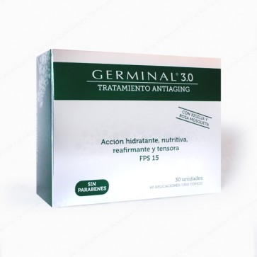 GERMINAL 3.0 Tratamiento Antiaging - 30 ampollas