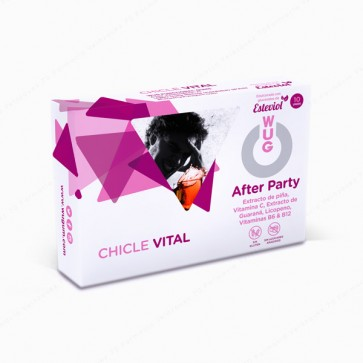 WUG After Party Vital Chicle Vital - 10 unidades