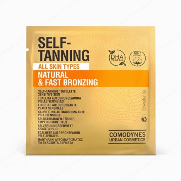 COMODYNES SELF-TANNING Natural & Uniform Color - 8 toallitas