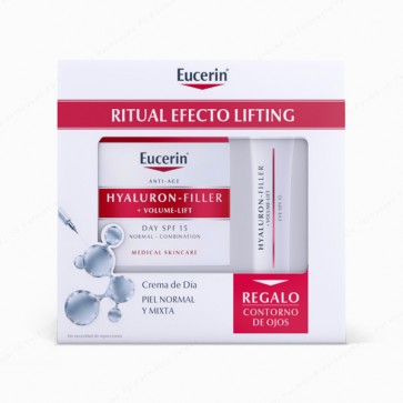 "Eucerin® Hyaluron-Filler + Volume-Lift ""Ritual Efecto Lifting"" piel normal o mixta Edición Limitada 2018"