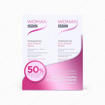 Woman ISDIN Antiestrías - DUPLO 2 x 250 ml