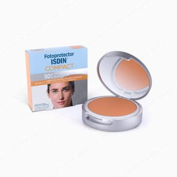 Fotoprotector ISDIN Compact Bronce SPF 50+ - 10 gr