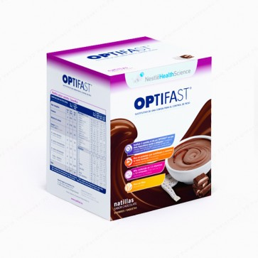 OPTIFAST® Natillas Chocolate - 9 sobres
