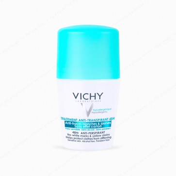 VICHY Desodorante roll-on anti-marcas 48h - 50 ml