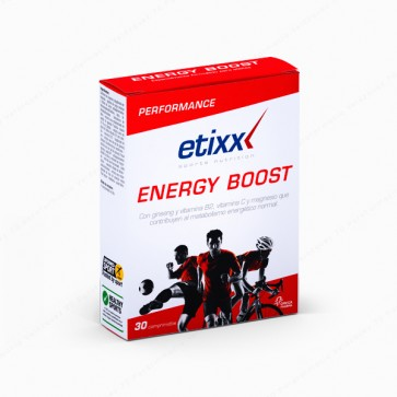 Etixx ENERGY BOOST - 30 tabletas