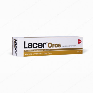 Lacer OROS Pasta Dentífrica - 125 ml