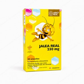 ARKO REAL Abeja Maya JALEA REAL 250 mg - 20 ampollas