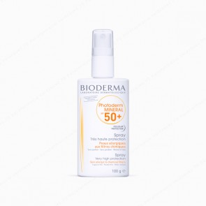Bioderma Photoderm MINERAL Spray SPF 50+ UVA26 - 100 gr