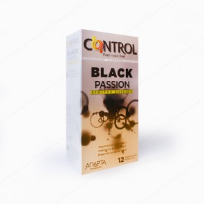 "CONTROL Adapta ""Black Passion"" Limited Edition Preservativos - 12 unidades"