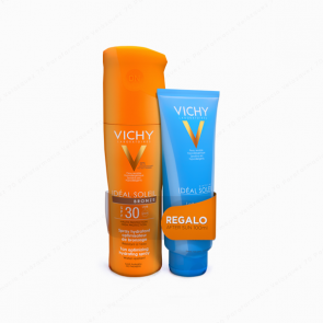 VICHY Ideal Soleil Spray Bronze SPF 30 200 ml + REGALO After Sun 100 ml