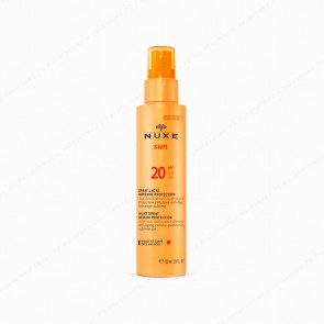 NUXE Sun Leche Corporal y Facial en Spray SPF 20 - 150 ml