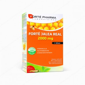 Forté Pharma Forté Jalea Real 2000 mg - 20 ampollas x 15 ml