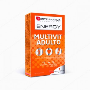 Forté Pharma Energy Multivit Adulto - 28 comprimidos