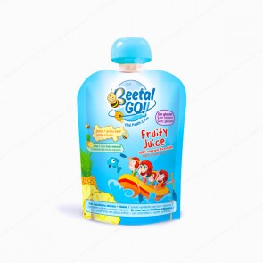 BeetalGO! Fruity Juice - Bolsita con boquilla de 70 ml