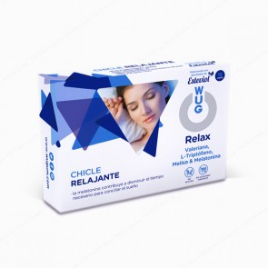 WUG Relax Chicle Relajante - 10 unidades