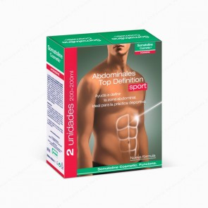 Somatoline Cosmetic® Tratamiento Abdominales Top Definition Sport Cool - DUPLO 2 x 200 ml