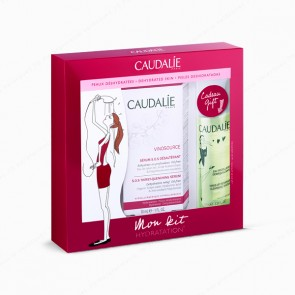 CAUDALIE Vinosource Kit Pieles Deshidratadas - Sérum S.O.S Desalterante 30 ml + REGALO de Agua Micelar Desmaquillante 100 ml