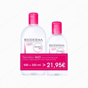 Bioderma Pack Sensibio H2O - 500 ml + 250 ml