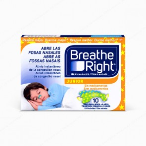 Breathe Right® Junior - 10 unidades