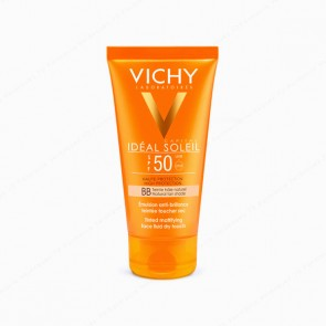 VICHY Ideal Soleil BB Cream Tacto Seco SPF 50 con color - 50 ml