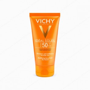 VICHY Ideal Soleil Emulsión Tacto Seco SPF 50 - 50 ml