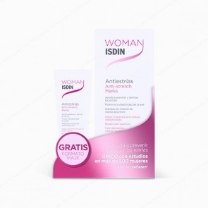 Woman ISDIN Antiestrías 250 ml + GRATIS 50 ml