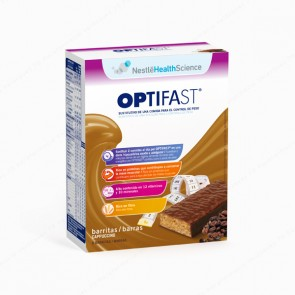 OPTIFAST® Barritas Capuchino - Estuche de 6 barritas