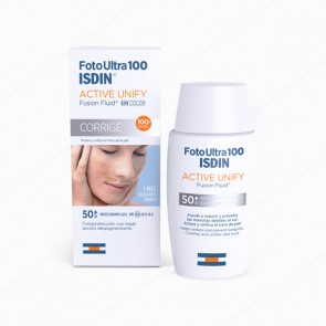 Foto Ultra 100 ISDIN Active Unify Fusion Fluid SPF 100+ - 50 ml
