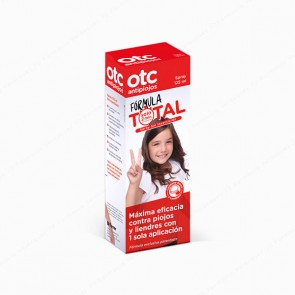 OTC antipiojos Fórmula TOTAL spray sin insecticida - 125 ml