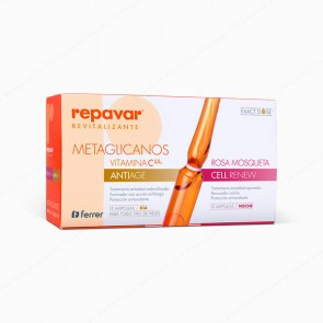 Repavar® REVITALIZANTE C5,5% Metaglicanos Antiage & Cell Renew - 30 ampollas