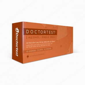 Doctortest [Single Drug] Test de Alcohol - 10 unidades