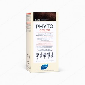 PHYTO PHYTOCOLOR 5.35 coloración permanente - Castaño Claro Chocolate