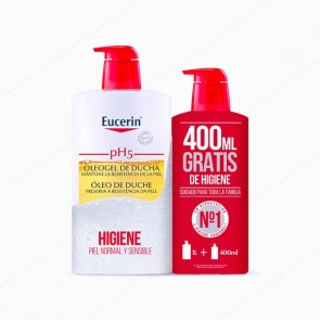 Eucerin® pH5 Skin-Protection Oleogel de Ducha 1L + 400 ml