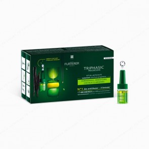 René Furterer Triphasic Progressive caída progresiva - 8 frascos x 5,5 ml