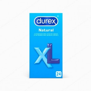 DUREX Natural XL - 24 preservativos