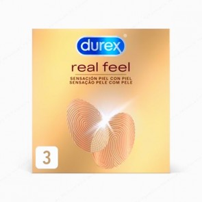 DUREX Real Feel - 3 preservativos