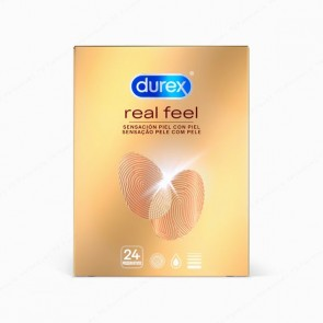 DUREX Real Feel - 24 preservativos