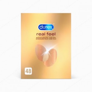 DUREX Real Feel - 48 preservativos