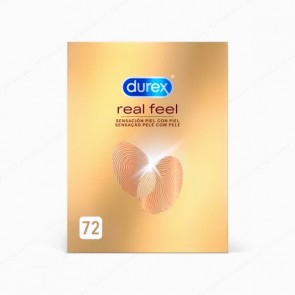 DUREX Real Feel - 72 preservativos