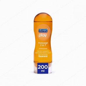 DUREX Play Massage 2 en 1 Estimulante Guaraná - 200 ml