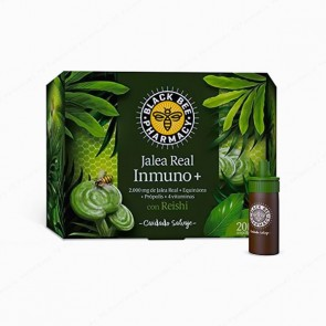 Black Bee Pharmacy Jalea Real Inmuno+ - 20 ampollas