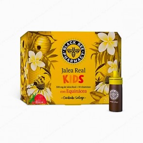 Black Bee Pharmacy Jalea Real Kids - 20 ampollas