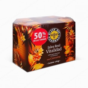 Black Bee Pharmacy Jalea Real Vitalidad - DUPLO 2 x 20 ampollas