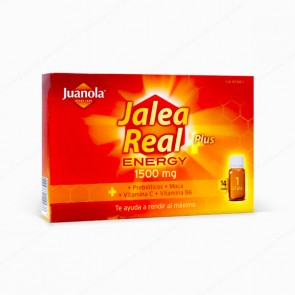 Juanola Jalea Real Energy Plus - 1500 mg (14 viales)