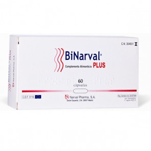 BiNarval Plus - 60 cápsulas