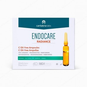 ENDOCARE Radiance C Oil-free Ampollas - 10 ampollas