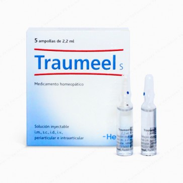 Heel Traumeel® S inyectable - 5 ampollas x 2,2 ml