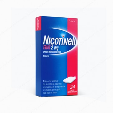Nicotinell Fruit 2 mg - 24 chicles medicamentosos