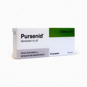 Pursenid® 12 mg - 20 grageas
