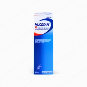 Mucosan® 6 mg/ml jarabe - 250 ml
